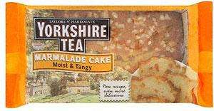 Yorkshire Tea Loaf and yorkshire Tea Marmalade Cake £1 at Tesco