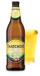 Thatchers Gold Cider - 8 x 500ml @  Morrisons In Store Only £8.00