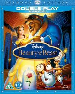 Beauty and the Beast Diamond Edition Blu-ray & DVD 3 Disc Version - £10.93 @ Asda