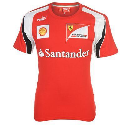 Puma Scuderia Ferrari Replica T Shirt Mens £28 @ sportsdirect.com