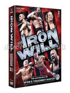 Iron Will: The Anthology of WWE's Toughest Match DVD (3 Discs) £7.99 from tomorrow (Weds) 10AM for 24 hours @ Silvervision
