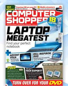 """Free issue of Computer Shopper - call and quote reference number """"CS3A"""""""