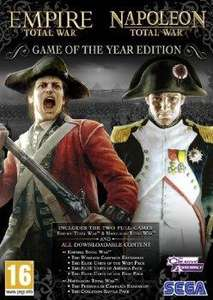 Empire & Napoleon Total War @ PC World & Currys for 47p