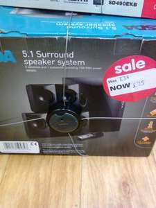 ASDA 5.1 Surround Sound Speakers for £25 at ASDA (instore)