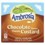 Ambrosia Chocolate Custard 465g carton 10p @ Tesco instore
