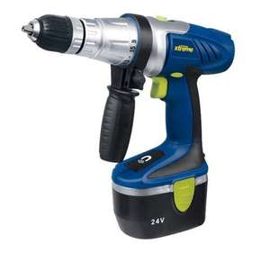 CHALLENGE XTREME 24V HAMMER DRILL ARGOS EBAY CLEARANCE £24.99 DELIVERED