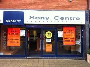 Sony Centre Camberley *closing Down Sale*