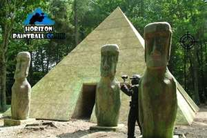 Paintball Experience With 100 Balls for £3 with Horizon Paintball (£17.98 Value) @ Groupon