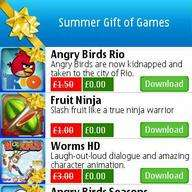 FREE Symbian Games - Summer Gift of Games on OVI Store
