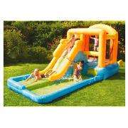 tesco giant airflow bouncy castle, pool and water slide £136 (plus £10 off code exp Mon)