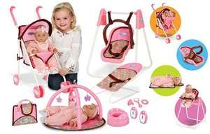 Graco Baby Doll Set plus Pram and Accessories Was £49.99 Now £19.99 @ TheToyShop.com