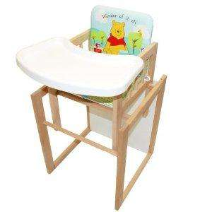 East Coast Nursery Winnie the Pooh Combination Highchair (table & Chair / Highchair) - Half Price - £40.99 at Amazon