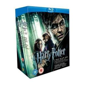 Harry Potter Box Set: 1-7 (7 Discs) (Blu-ray) - £25.49 (using code 20JULY15-1) @ Tesco Entertainment