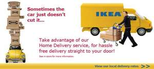 IKEA (Belfast) - Delivery price restructuring