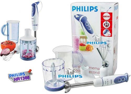 Philips HR1366 Hand Blender with Metal Tip & Whisk - Now £24.99 + Del @ Telephones Online