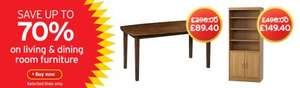 Sainsburys furniture sale, loads with 70% off + 3% quidco