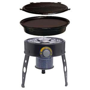 Tesco IN-STORE Cadac Mini Chef 30cm gas bbq was £50 now 50p!!