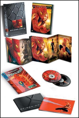 Spider-Man 2 double DVD (Gift Set)  £4.99 Delivered @ DVD.co.uk