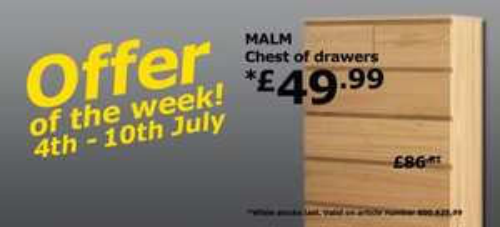 Local Offers in Ikea Milton Keynes