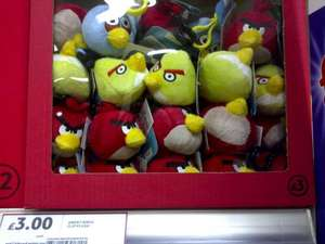 Angry Birds Back Pack  Clip Keyring £3 in Tesco