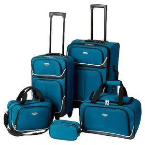 protocol 5 piece luggage set £28 in store at morrisons (£120 at tesco!)