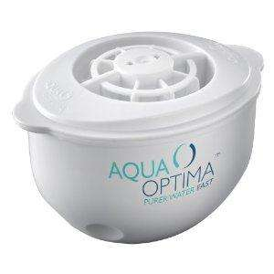 Aqua Optima DOUBLE LIFE Water Filter Cartridges x 12 (24 months) back at £12.49! @ Amazon