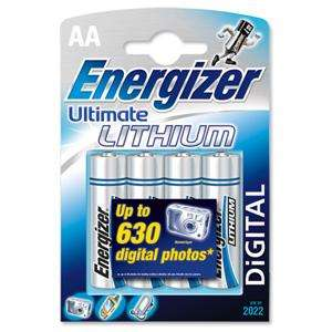 Energizer Lithium batteries AA 4 pack £1.75 plus BOGOF at spar