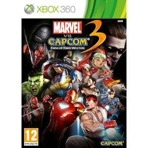 Marvel vs Capcom 3 (Xbox 360) New £10 - Asda *Instore*