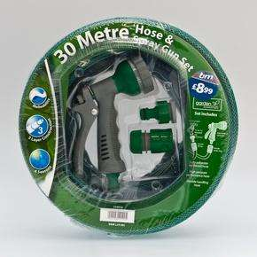 30 meter Hose Pipe & Gun Spray Set £8.99 @ B&M
