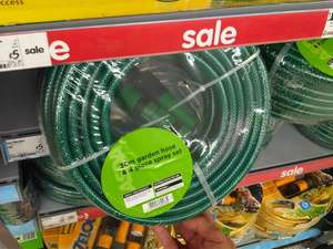 30m Garden Hose and 4 piece spray set- £5 Asda instore