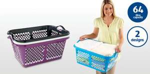 64 Litre Laundry Tub/Basket £2.99 @ Aldi