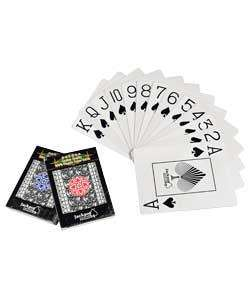100% Plastic Playing Cards in presentation tin *Casino Grade* - £3.29 (was £9.99) @ Argos