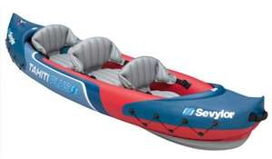 Sevylor Tahiti Plus Kayak (2 + 1 person) from Amazon @ £99.95 with free Delivery N.B. Please don't expire this when you first see £125 the deal is from Amazon directly