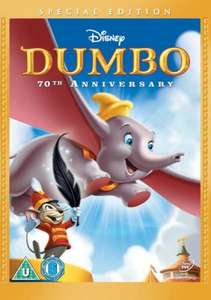 Disney Dumbo DVD 70th Anniversary DVD (Special Edition) £5.00 @ Asda Instore!
