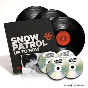 Snow Patrol - Up To Now,  Fan Edition Boxset @ Universal Music for £22.98
