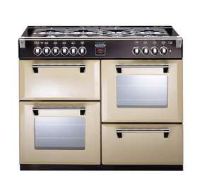 STOVES Richmond 1100GT FSD Gas Range Cooker - Champagne + quidco £399! @dixons