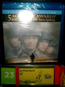 Saving Private Ryan - Blu Ray - ASDA Instore £7