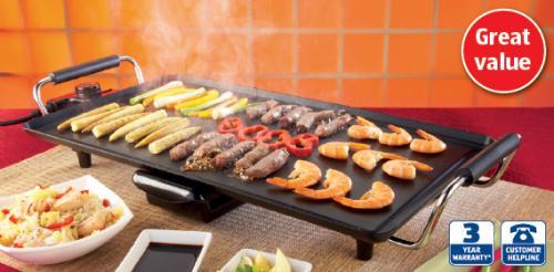 Teppanyaki Grill £19.99 instore @ Aldi.... Thursday 21st July special buy