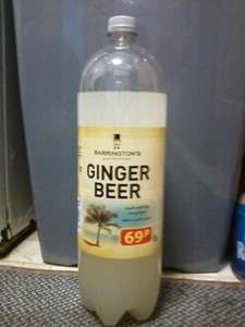 Barrington's Ginger Beer 2Litres 50p @ Farmfoods