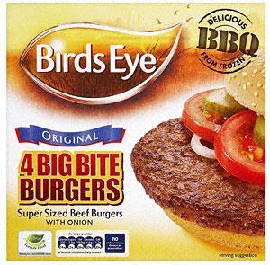 Birds Eye 4 Big Bite Burgers 568g £1.74, Birds Eye 12 Omega 3 Fish Fingers 336g £1.24, Old El Paso Fajitas Original Smoky BBQ Dinner Kit (750g) £1.99 & Kelly's Cornish Honeycomb Ice Cream (1L) £1.88 (more in post) at Tesco