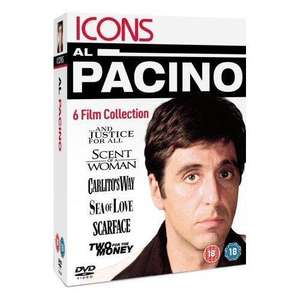 Al Pacino Collection Box Set (DVD) (6 Discs) - only £5.99 delivered @ Gzoop/Priceminister