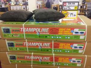 10ft Trampoline with Enclosure & Cover - £60.34 @ TJ Hughes (Instore)