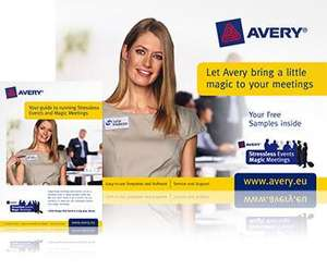 Avery free stationery / signs / badges etc