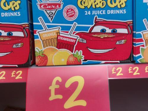 24 Calypso Cups £2 @ ASDA instore