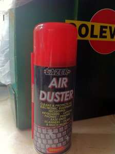Lazer Air Duster (compressed) 200ml £1 @ Poundland/99p Stores