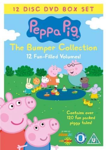 Peppa Pig Bumper DVD Box Set £17.99 @ asda-entertainment
