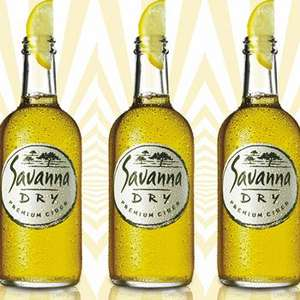 Savanna Dry 500ml 63p each @ Morrisons (buy in multiples of 4!)