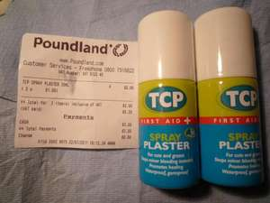 TCP spray Plaster only £1 @Poundland