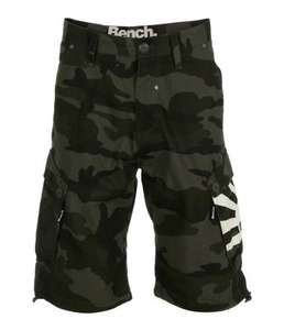 Bench Avenger Mens Camo Cargo Shorts £18.99 @ Official Bench ebay Outlet