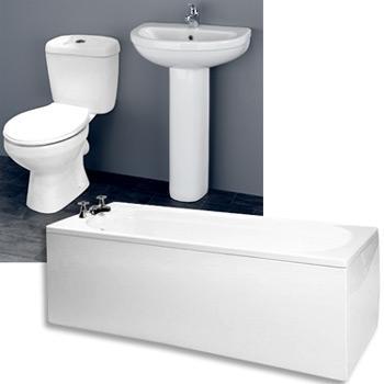 £199.94 Melbourne 5 piece bathroom suite! 43% off @ Victoriaplumbing